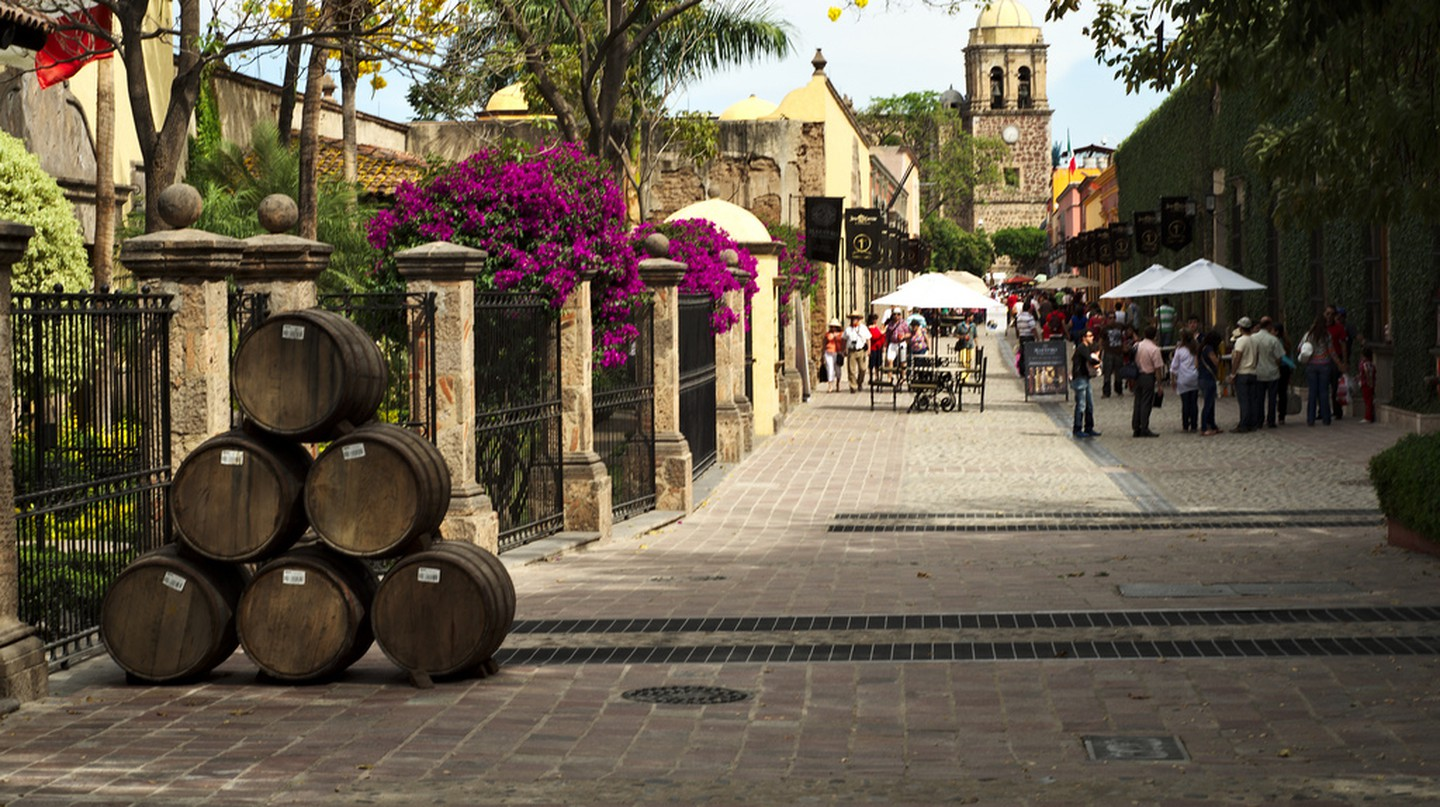 The streets of Tequila