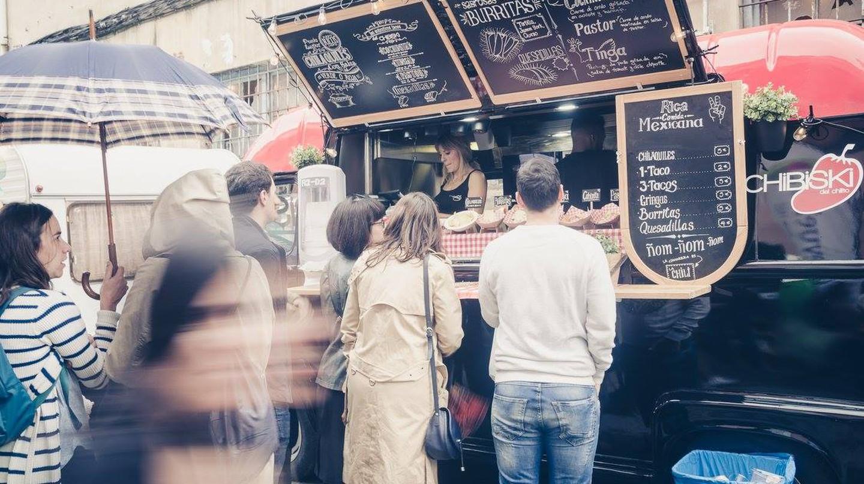 Street food at the Sunday Market Bilbao | Courtesy of The Sunday Market