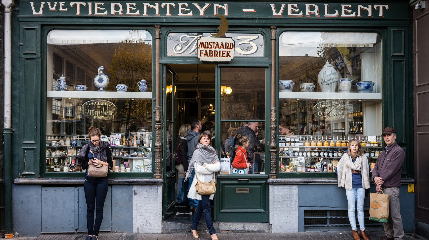 Tierenteyn-Verlent mustard and spice shop in the heart of Ghent | Courtesy of Visit Ghent