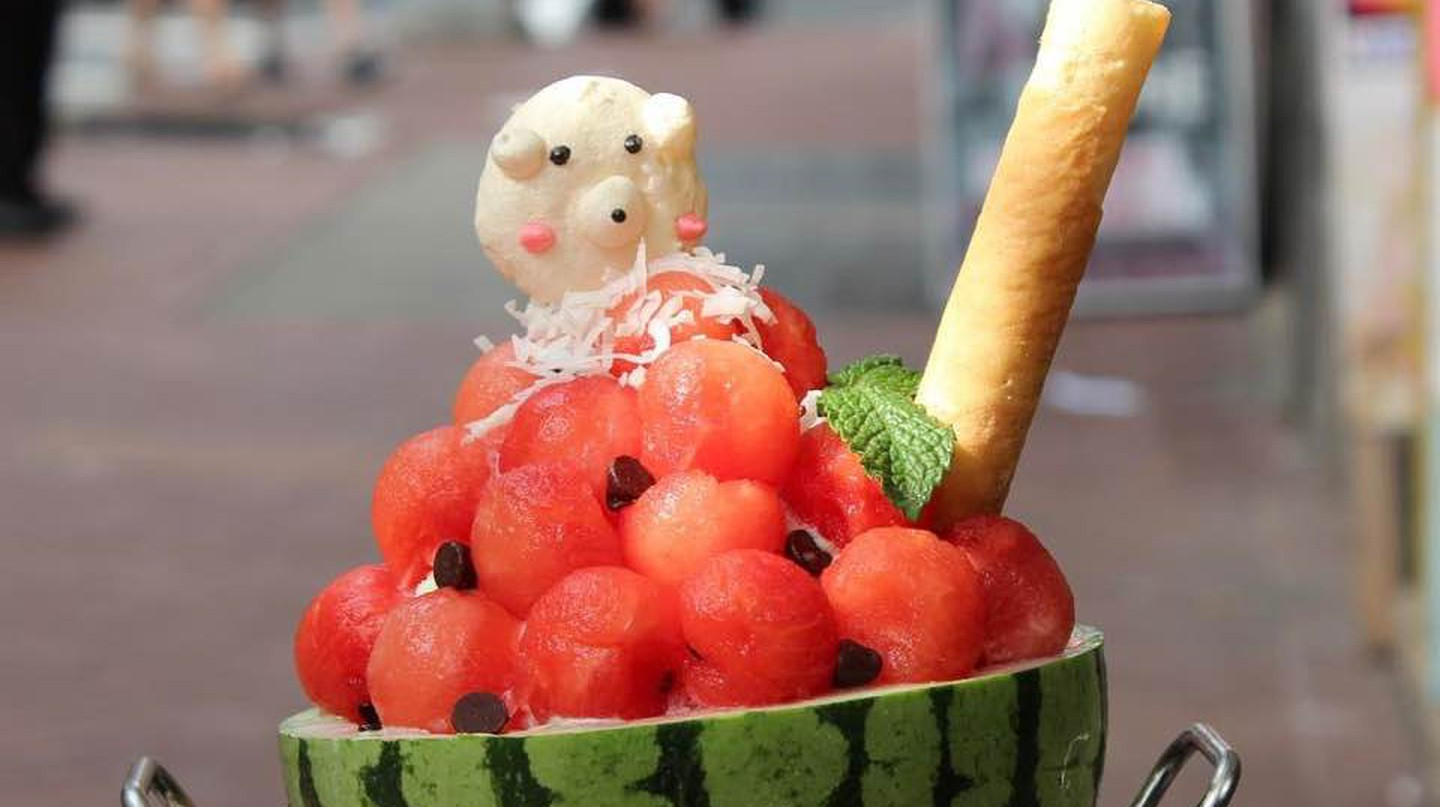 Watermelon Bingsoo | Courtesy of Sweet Moment