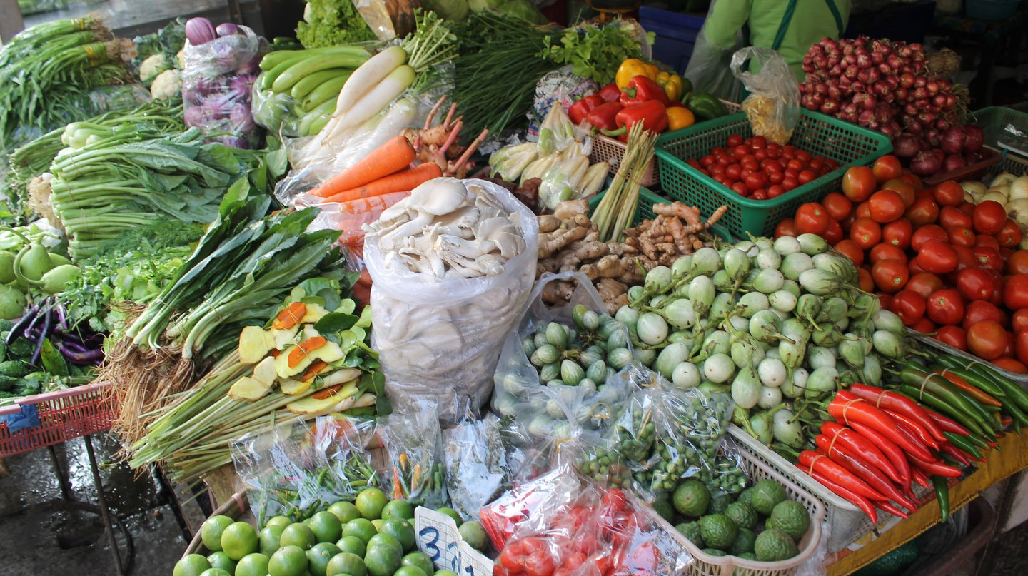 Thai vegetables