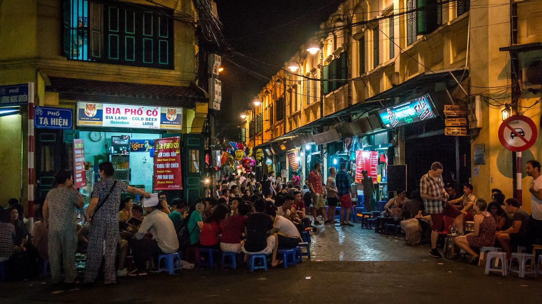 Vietnam by night