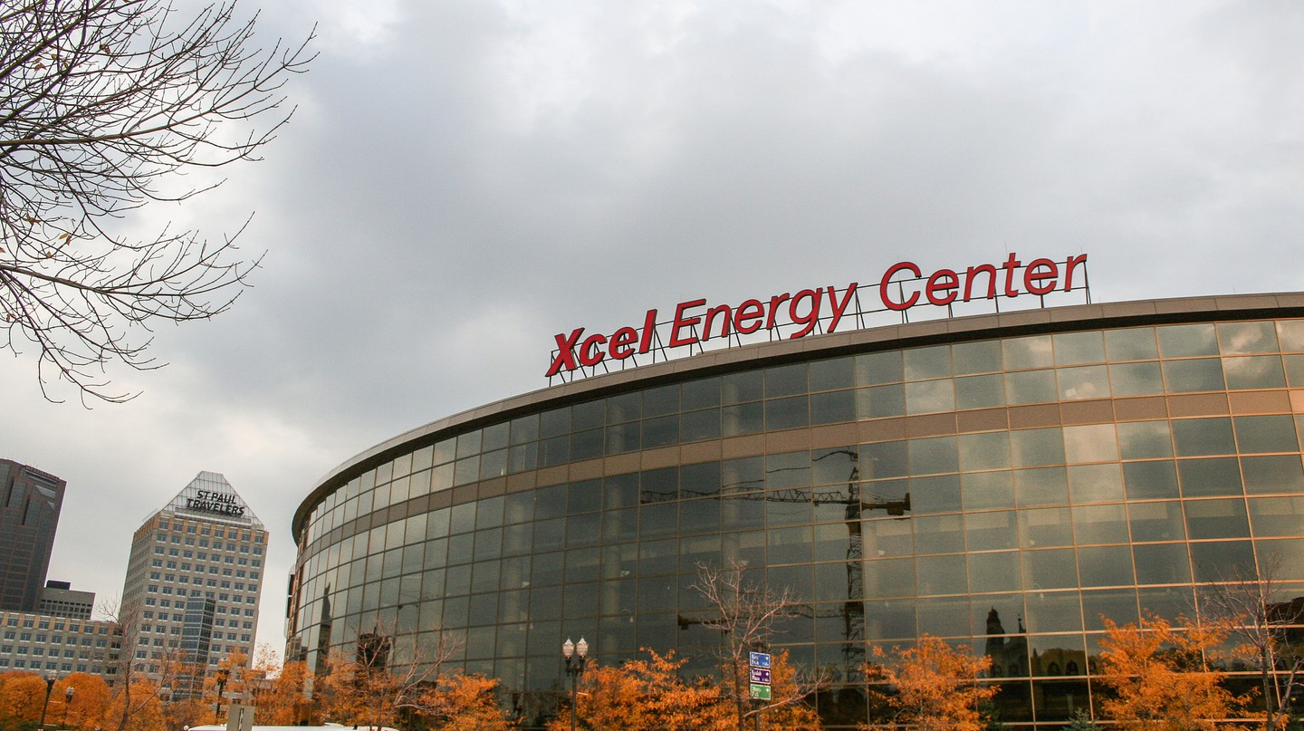 Xcel Energy Center | © Flickr/Tony Webster