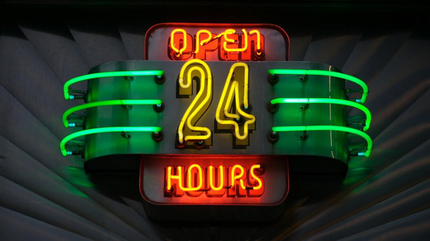 Open all hours | © Marcin Wichary / Flickr