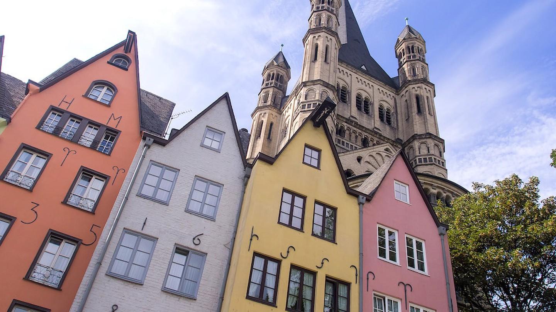 Cologne old town   © Ed Webster/Flickr
