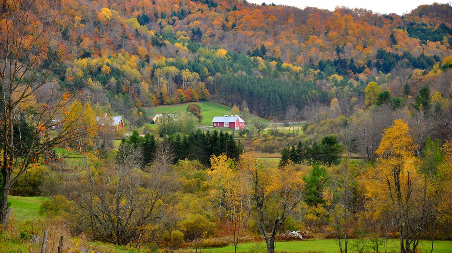 Fall foliage in Vermont | © Kimberly Vardeman / Flickr