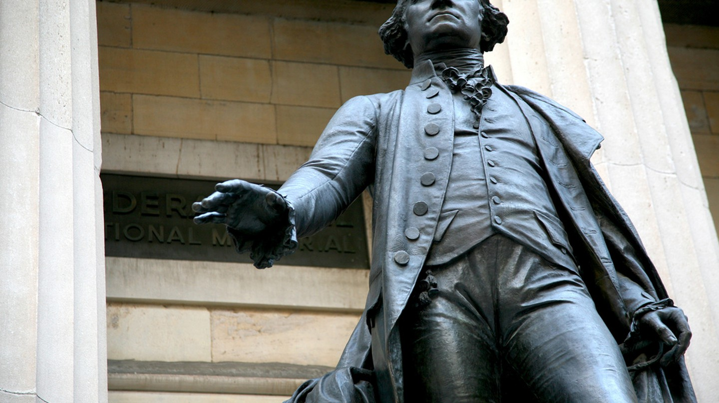 Statue of George Washington, Wall Street | © vincent desjardins