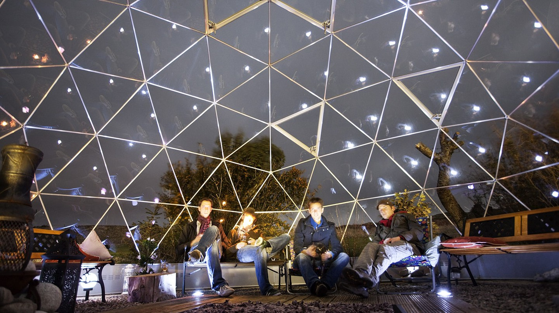 Dome at Skyewalker Hostel   Pim Geerts/Flickr