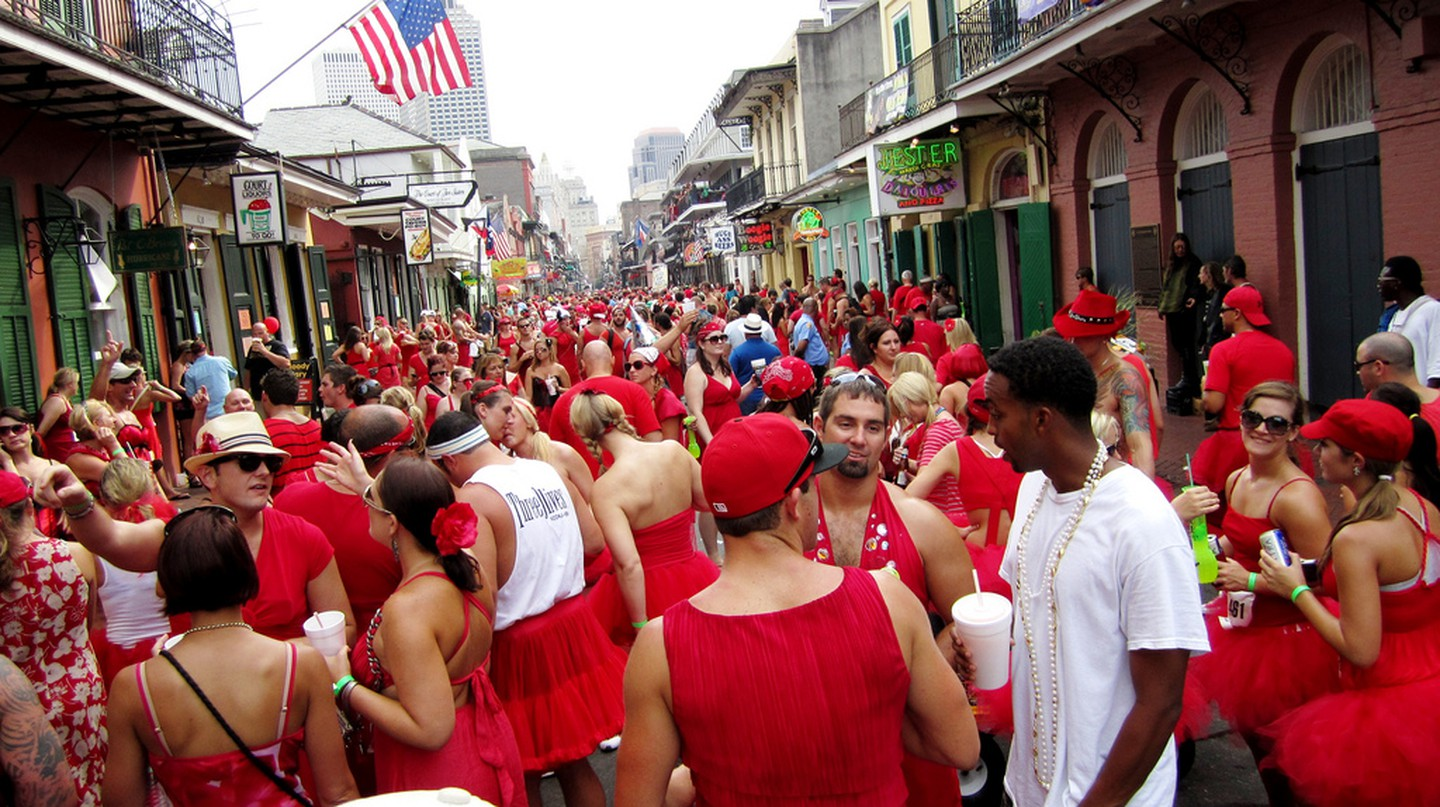 Red Dress Run, New Orleans | © Kimberly / Flickr