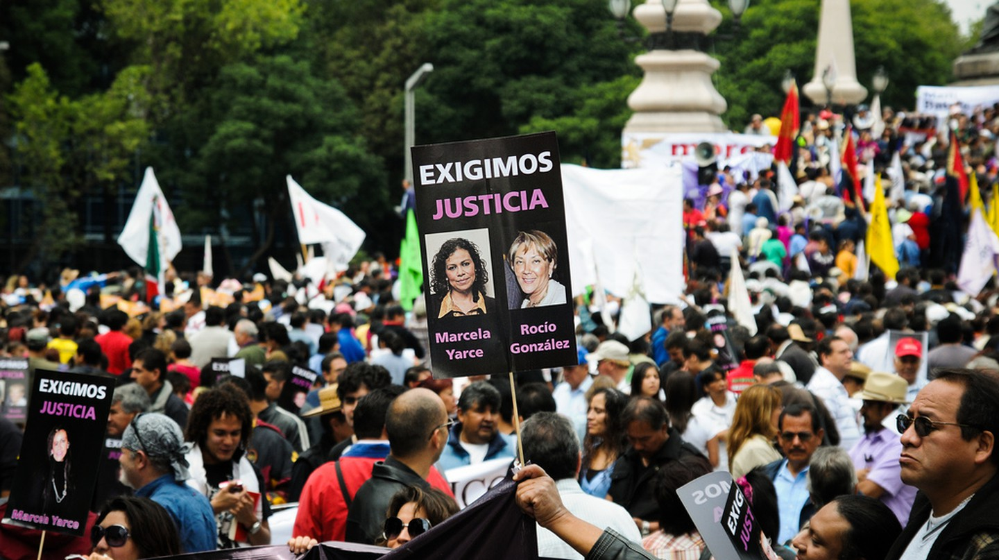 Mexico City protest for murdered journalists | © Eneas De Troya/Flickr