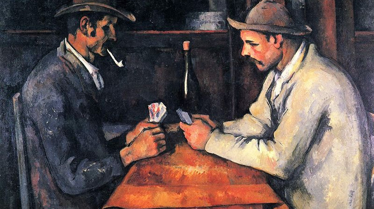 "The French depiction of the ""good"" life, by Cézanne 