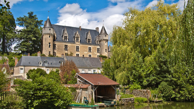 Château de Montrésor as seen from the River Indre. Montrésor is one of the 'Most Beautiful Villages of France'   © Daniel Jolivet/Shutterstock