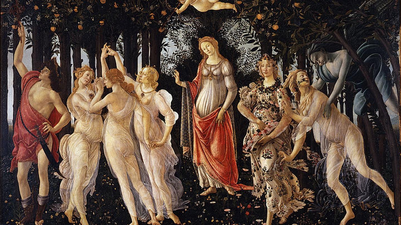 La Primavera Botticelli| ©WikiCommons