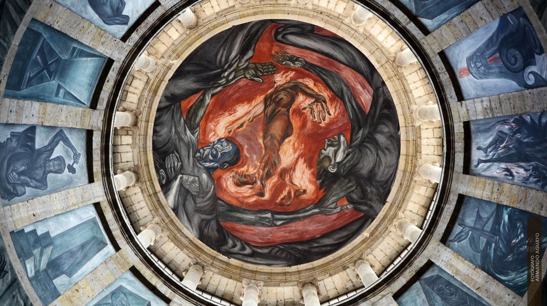'Man in Flames' mural in Guadalajara   © Armando Aguayo Rivera / Flickr