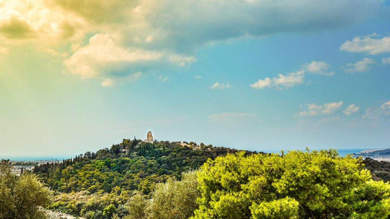 Filopappou hill, Athens | © PixaBay