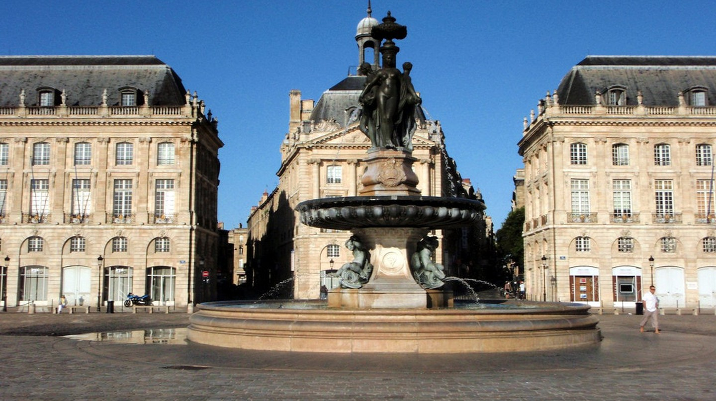 Bordeaux's Place de la Bourse