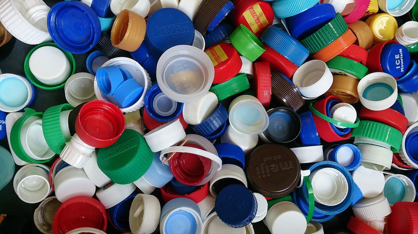"<a href=""https://commons.wikimedia.org/wiki/File:Bottle_caps_2.jpg""> Seychelles plastic ban came into effect on July 1, 2017 