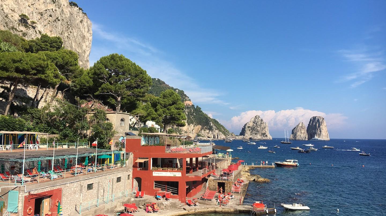 Capri I Marina Piccola I Gillian Longworth McGuire