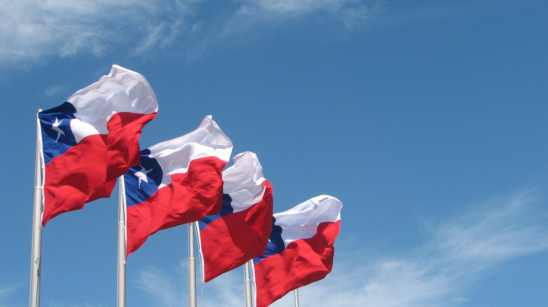 Chile flags | © Mark Scott Johnson/WikiCommons