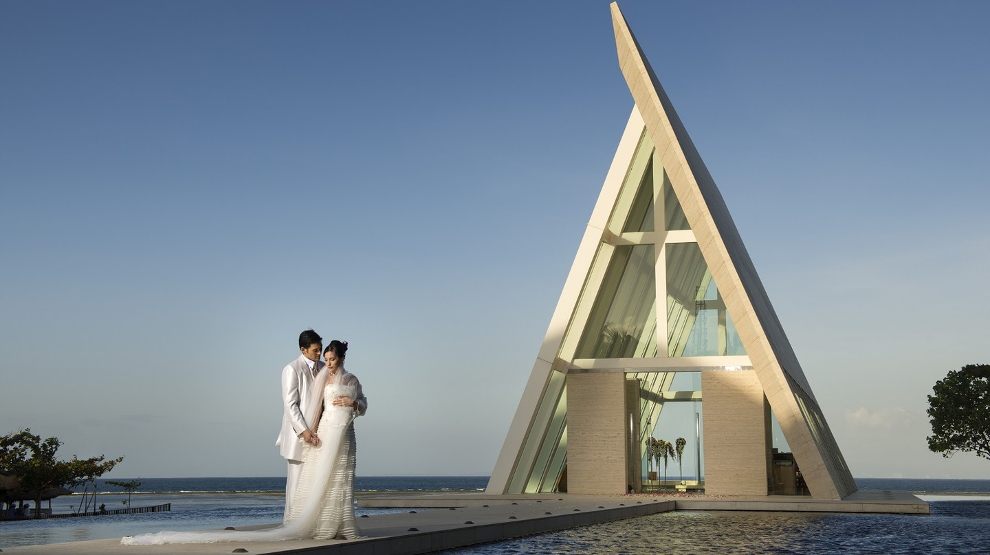 Conrad Infinity Chapel | © Courtesy of Conrad Bali