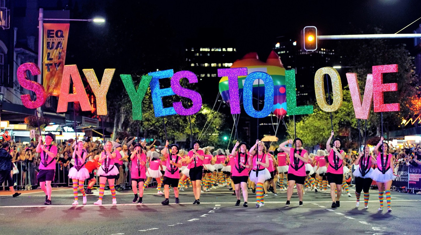 Courtesy Sydney Gay and Lesbian Mardi Gras Photographer Jeffrey Feng