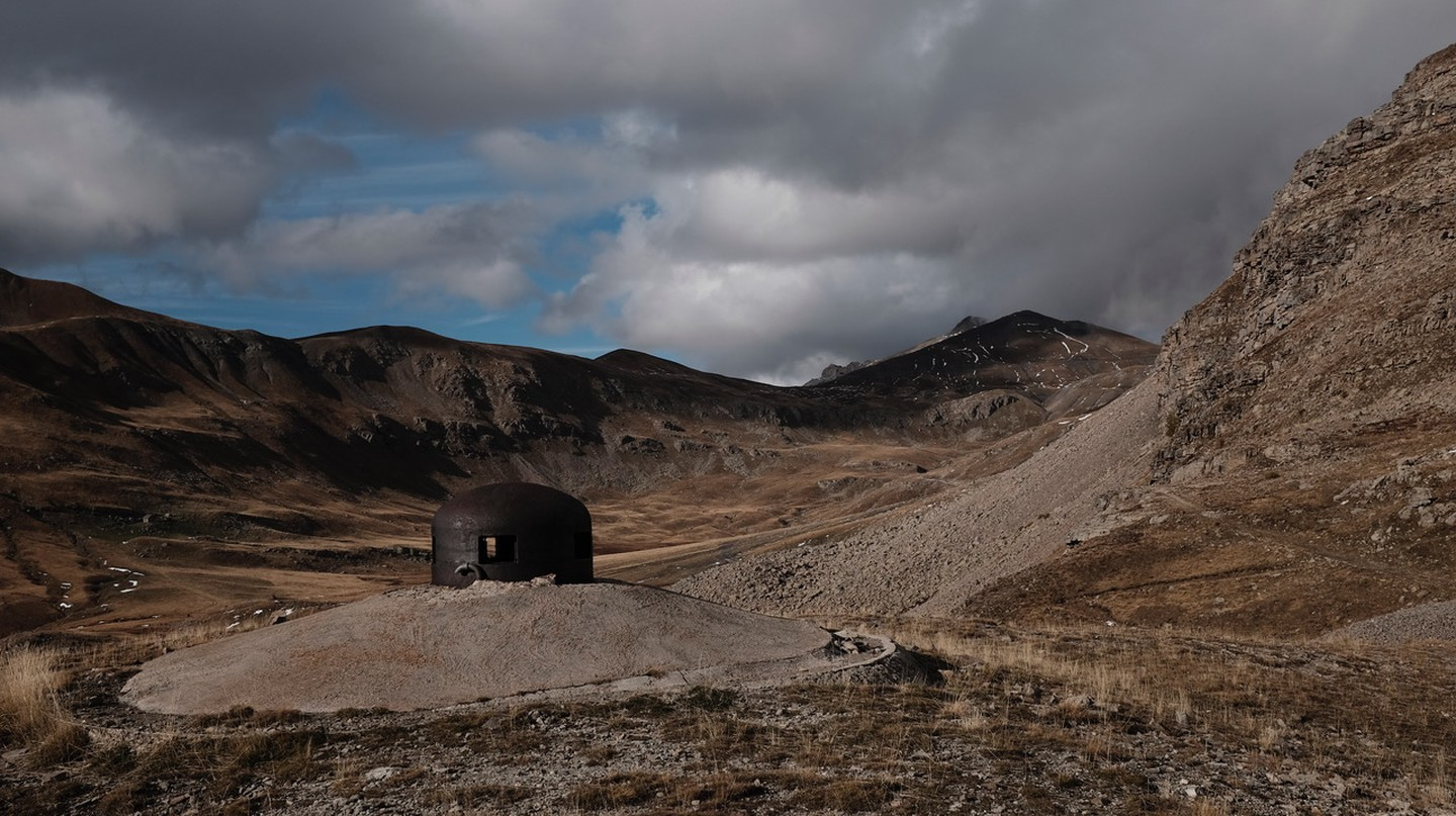The brutalist bunker of Col de la Moutière in the French alps | © Camille McMillan