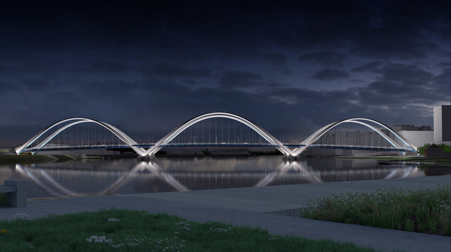 New Frederick Douglass Memorial Bridge design | Courtesy of DDOT