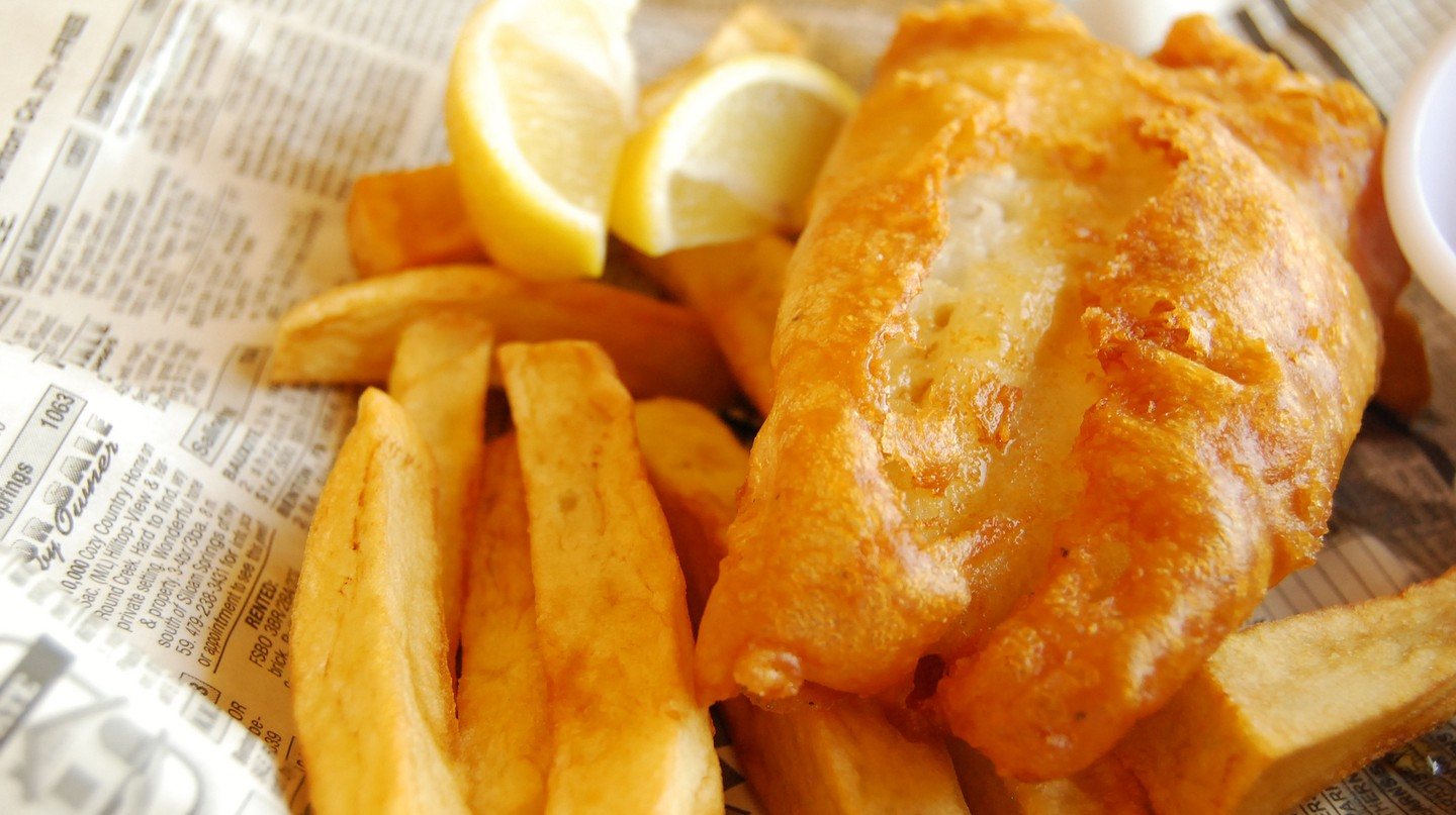 Fish and chips | © LearningLark/Flickr