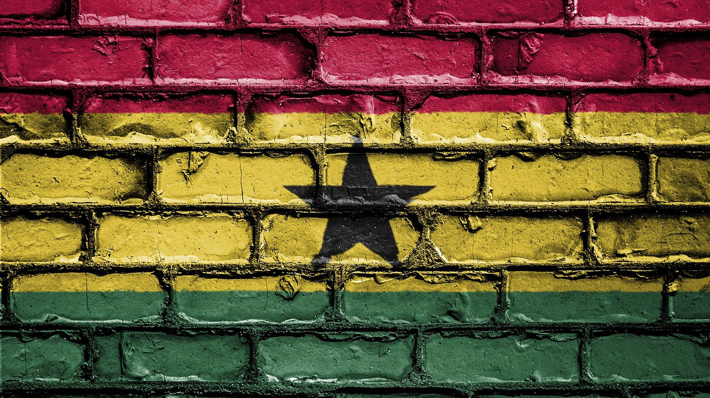 "<a href = ""https://pixabay.com/en/flag-banner-nation-emblem-country-2526396/""> Ghana Flag 