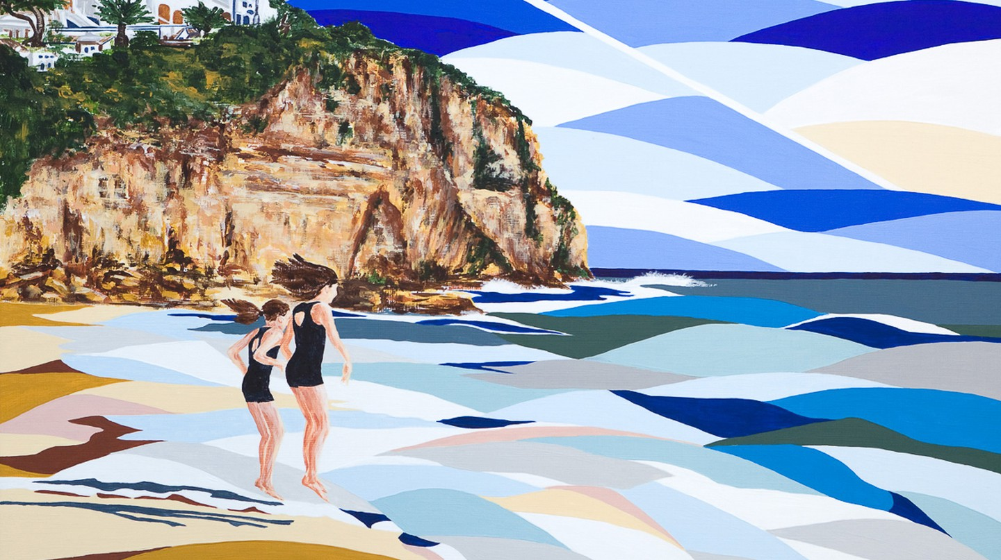 Girls on the Beach | Courtesy of Alyson Sheldrake