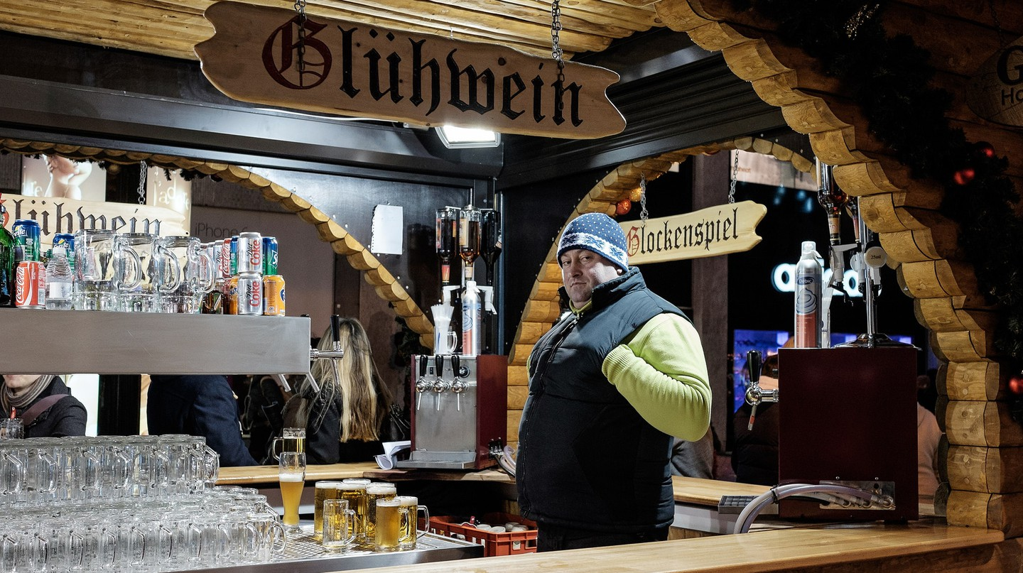 Gluwein, German Market | © Andrew Stawarz/Flickr
