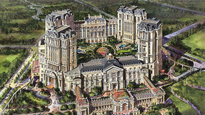Rendering of Grand Lisboa Palace   Courtesy of SJM Holdings Ltd.