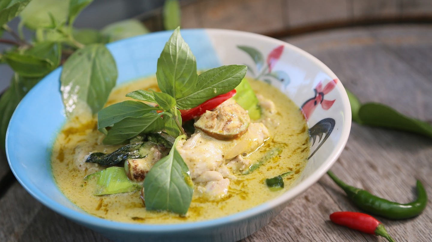 Green curry | © huahommag / Pixabay