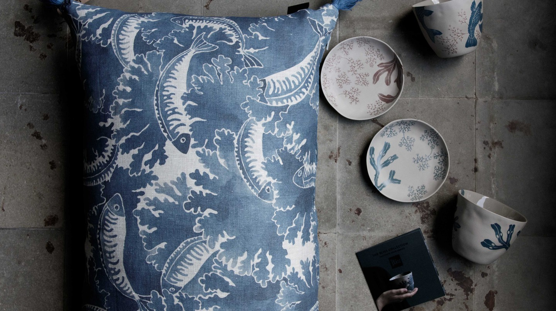 Collaboration with porcelain designer Kajsa Cramer | Courtesy of Emma von Brömssen