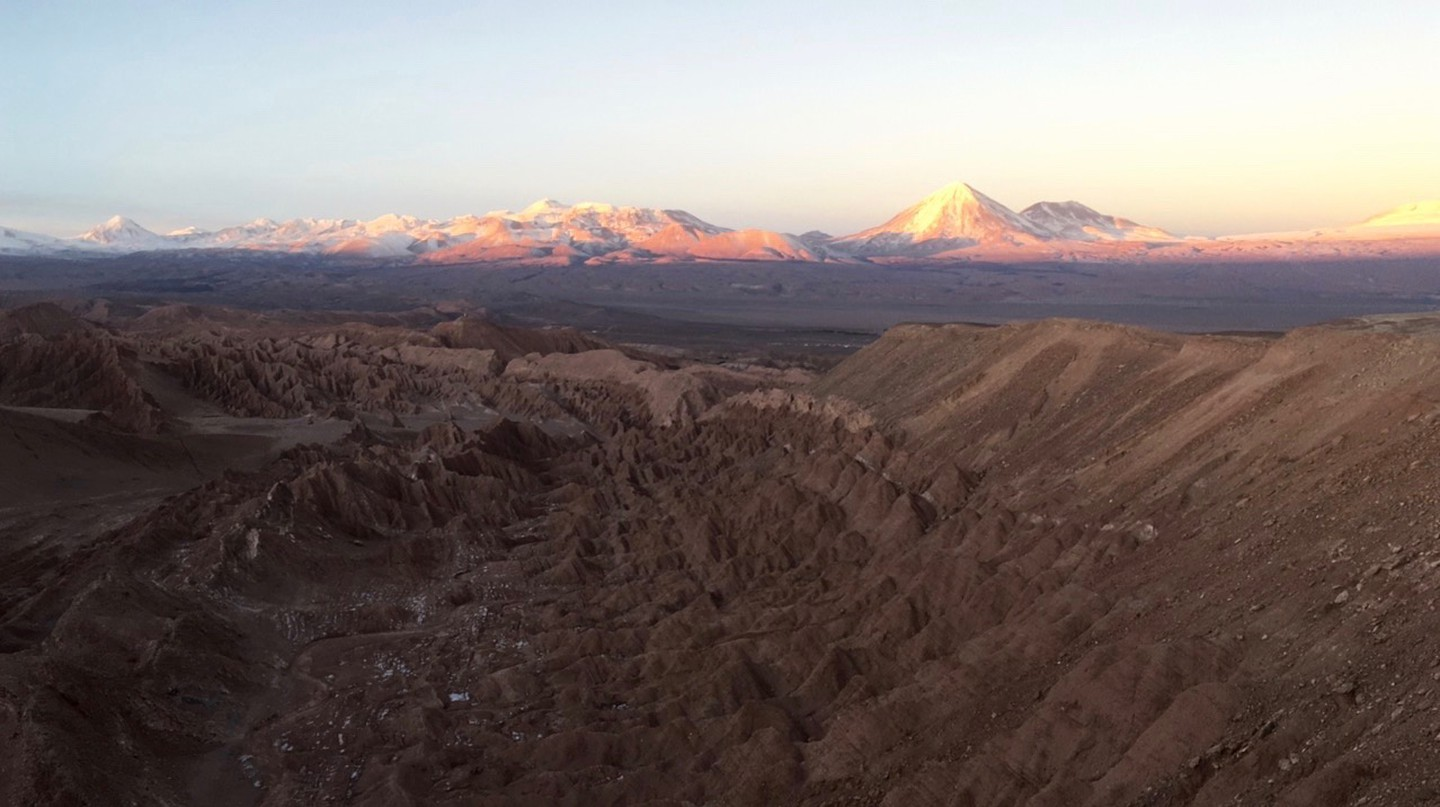 Sunset over the Atacama Desert | © Lucy Pierce
