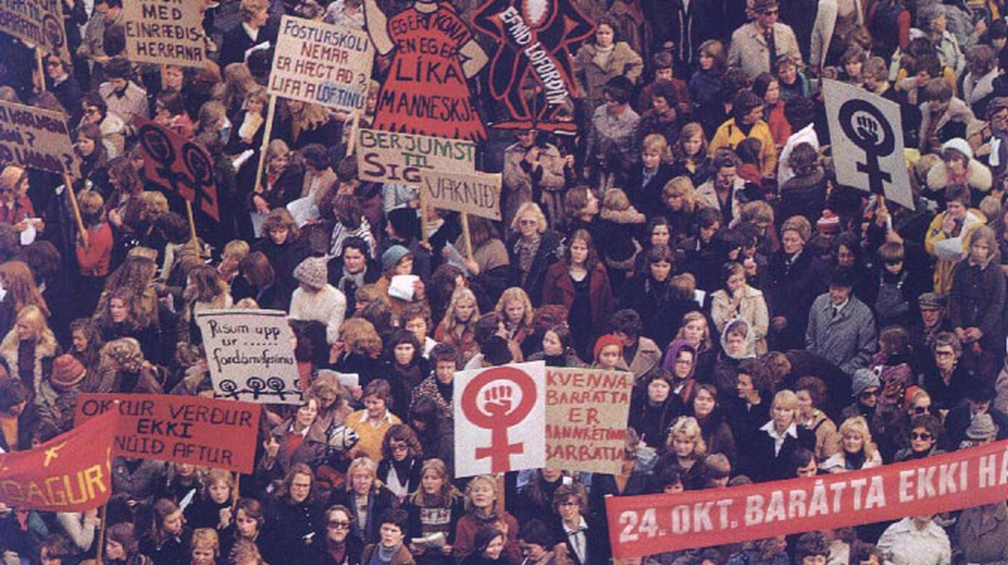 October 24th, 1975 |Courtesy of the Icelandic Women's Archive