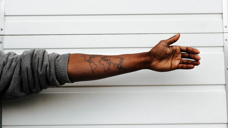World tattoo ©   StockSnap