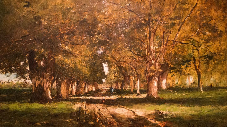 Mihály Munkácsy, Fasor (1886) | Courtesy of Bobo Boom / Flickr © Mihály Munkácsy