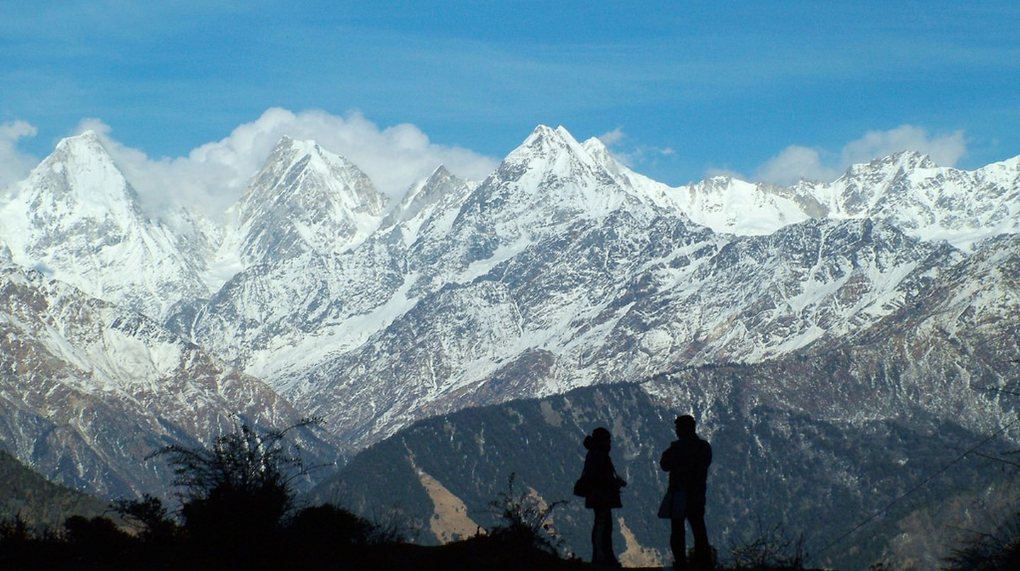 Panchchuli Peaks in the Munsiari district of Uttarakhand | © solarshakti/Wikimedia