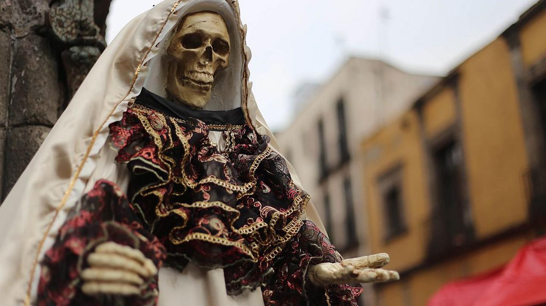Mexico City's favorite saint of death