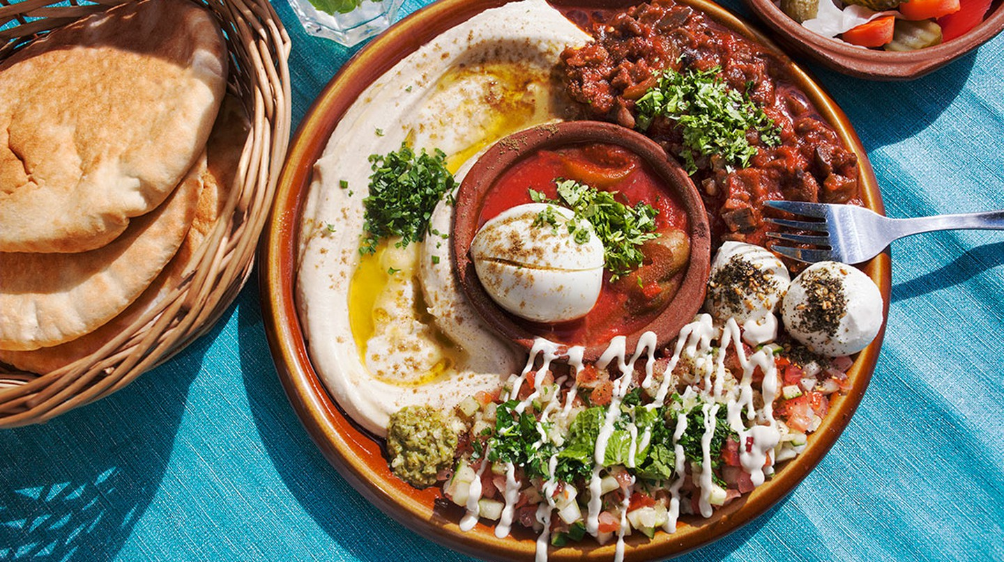 Veggie food in Tangier is a delight to the taste buds