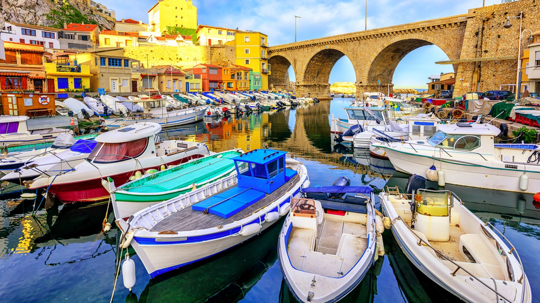 Marseille has lots of hidden places to visit   © Boris Stroujko/Shutterstock
