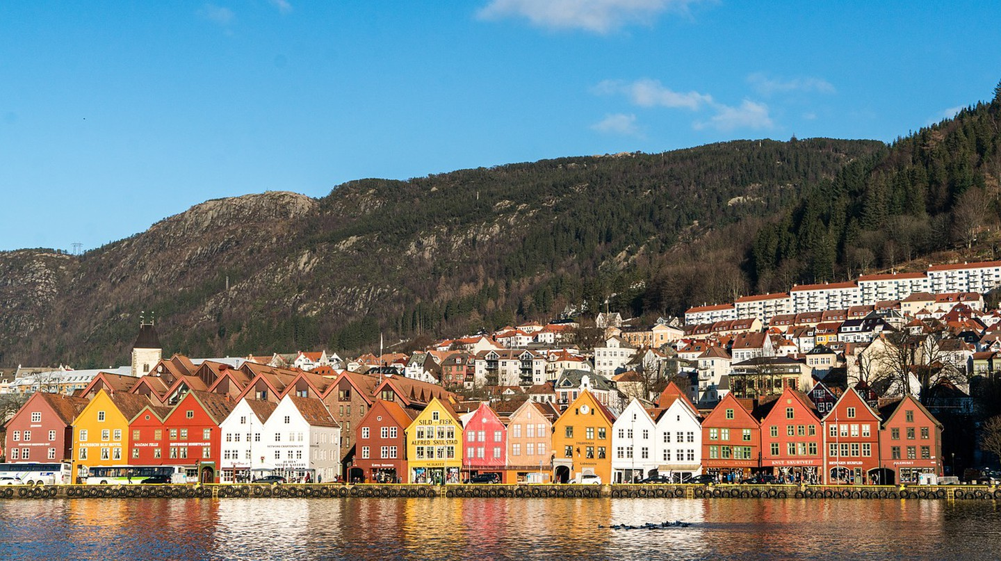 Site of the old Hanseatic League houses of Bergen, Norway |© Mariamichelle / Pixabay
