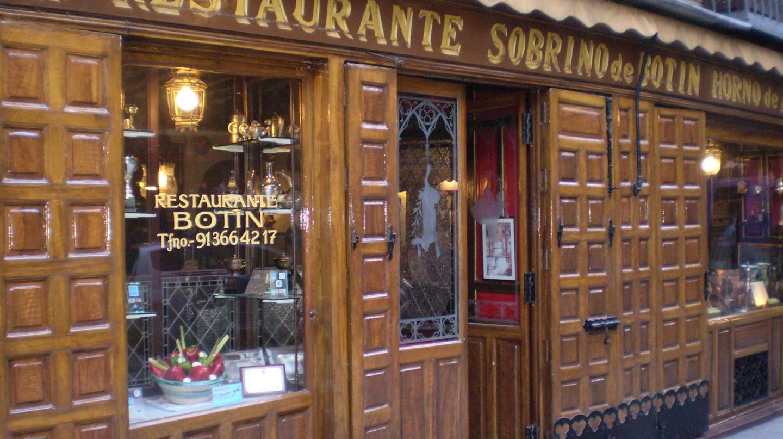 Sobrino de Botín, Madrid|©Esetena/Wikimedia