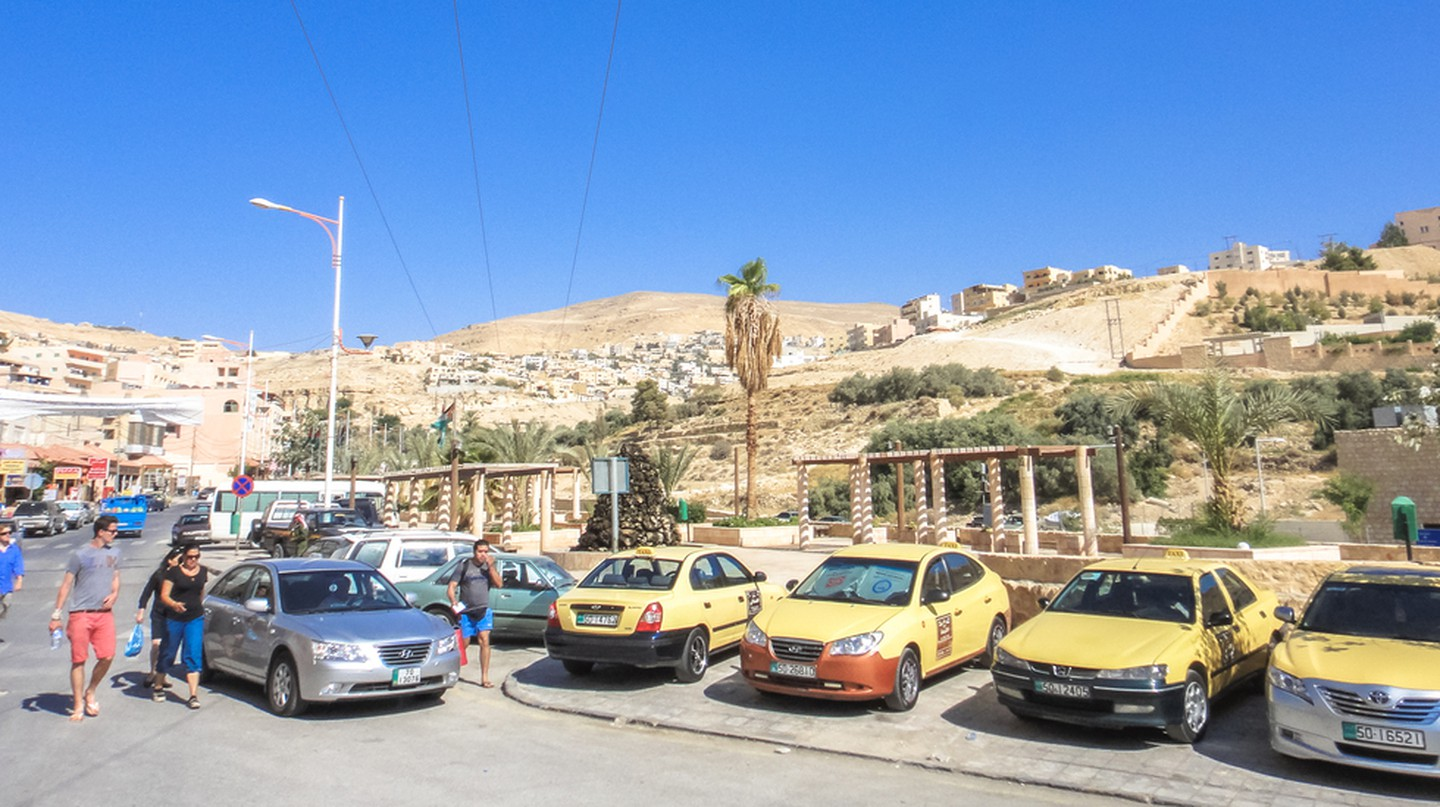 Taxis in Amman