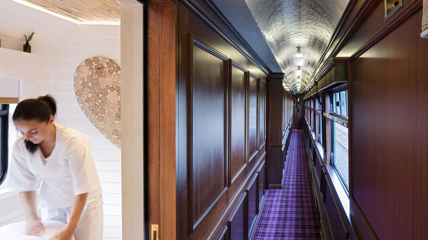 Scotland's Most Luxurious Train Now Has an On-Board Spa