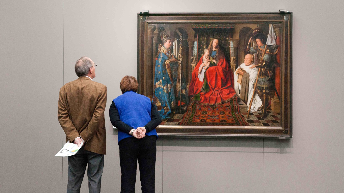 Van Eyck at the Groeningemuseum | © Jan D'Hondt / Courtesy of Visit Bruges