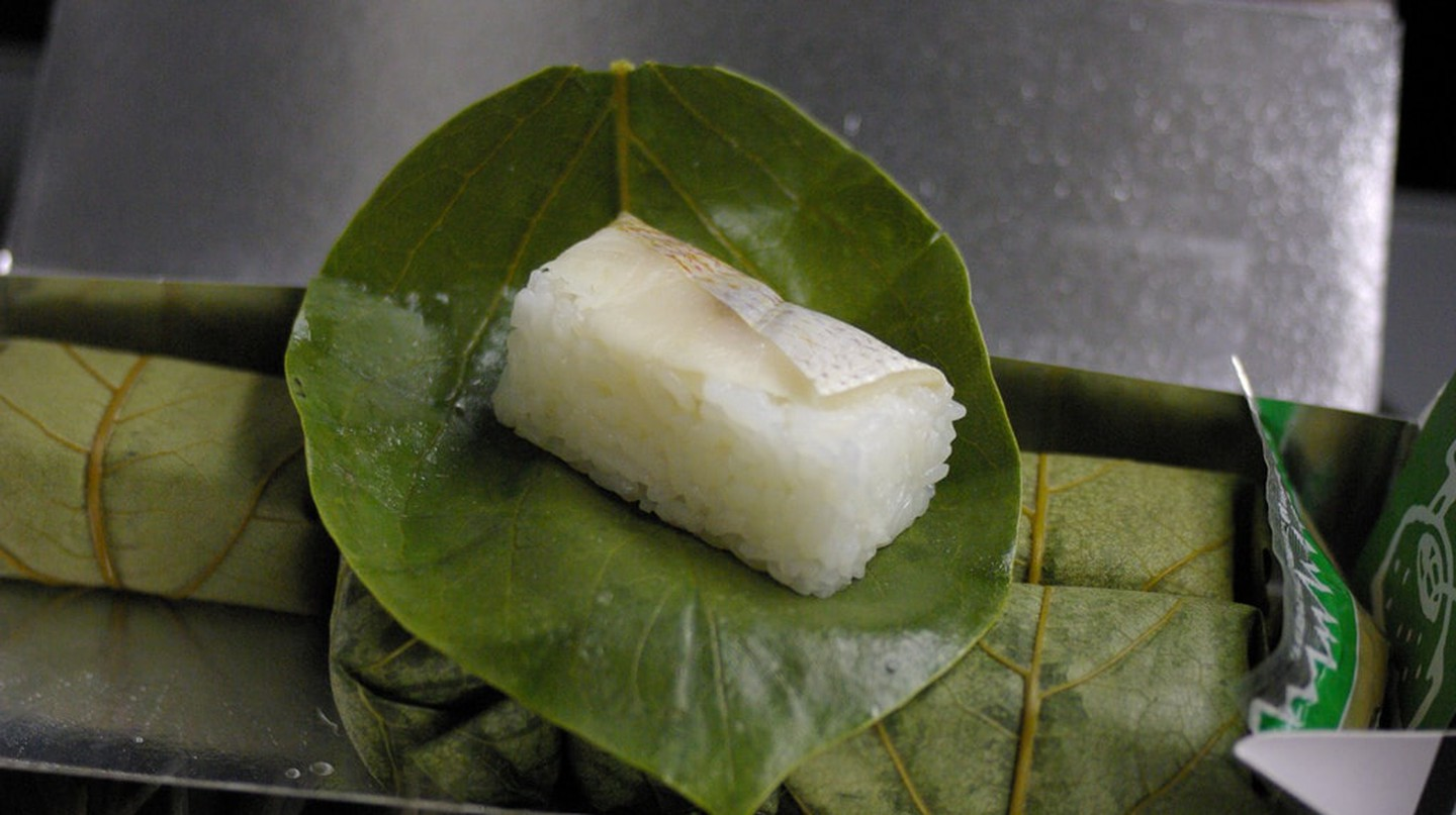 Nara Persimmon Leaf Sushi | © Jun OHWADA/Flickr