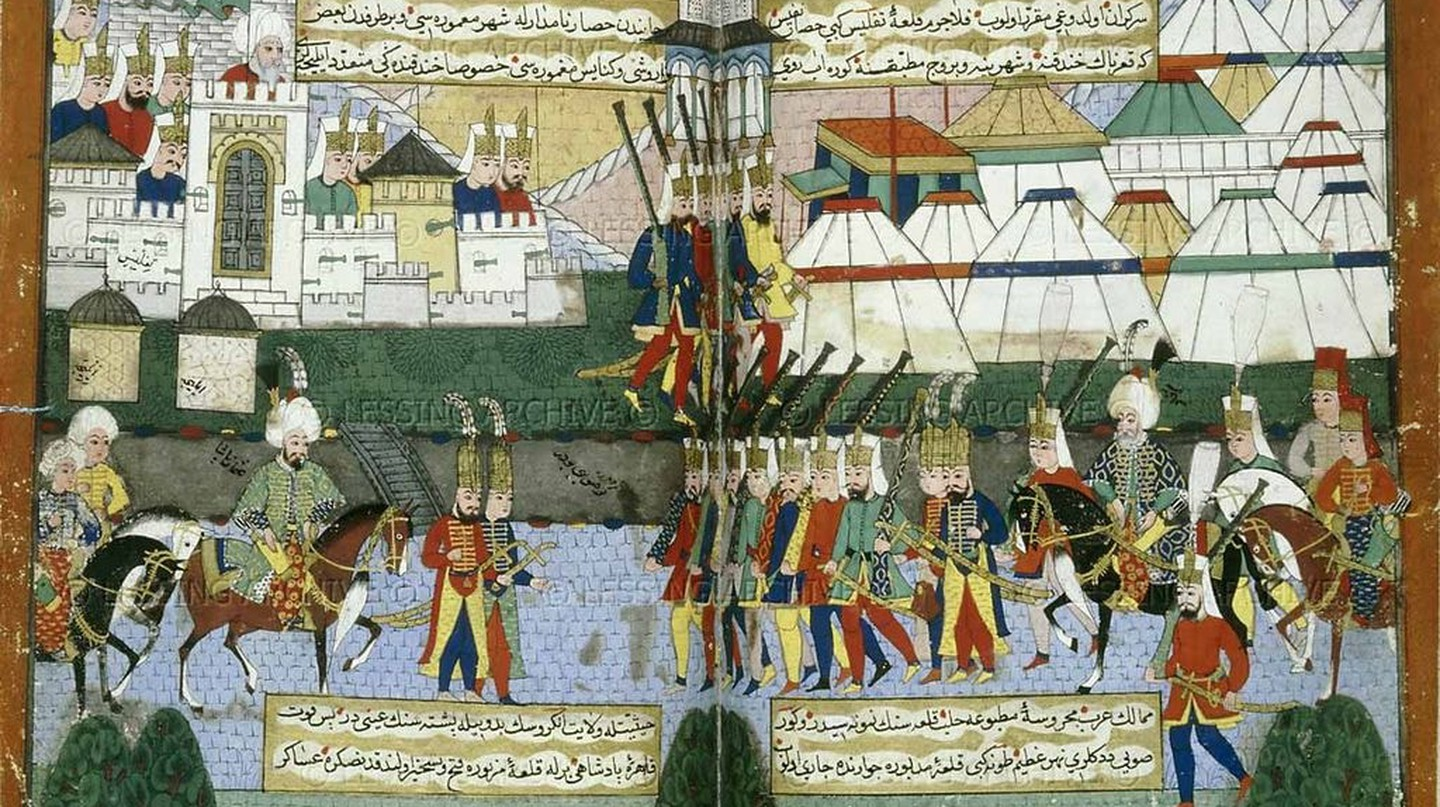 Ottoman miniature | © British Library Images Online/Wikimedia Commons