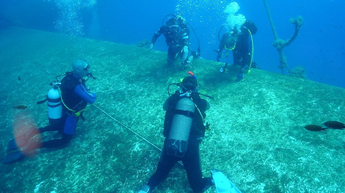 Diving in Cyprus